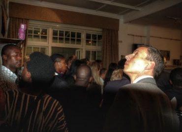 Lena Faber's Photo Exhibition IRON AFRICA opening