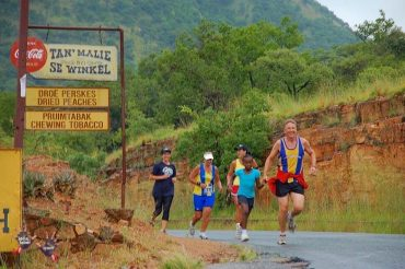 Hartbeespoort Marathon Club run