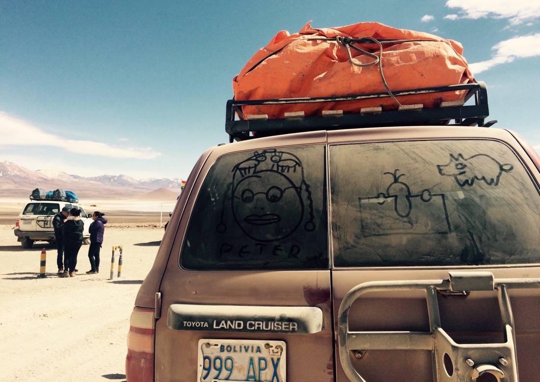 Loaded Truck onChile-Bolivia Border