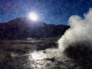 Geyser El Tatio, Atcama Desert, Chile