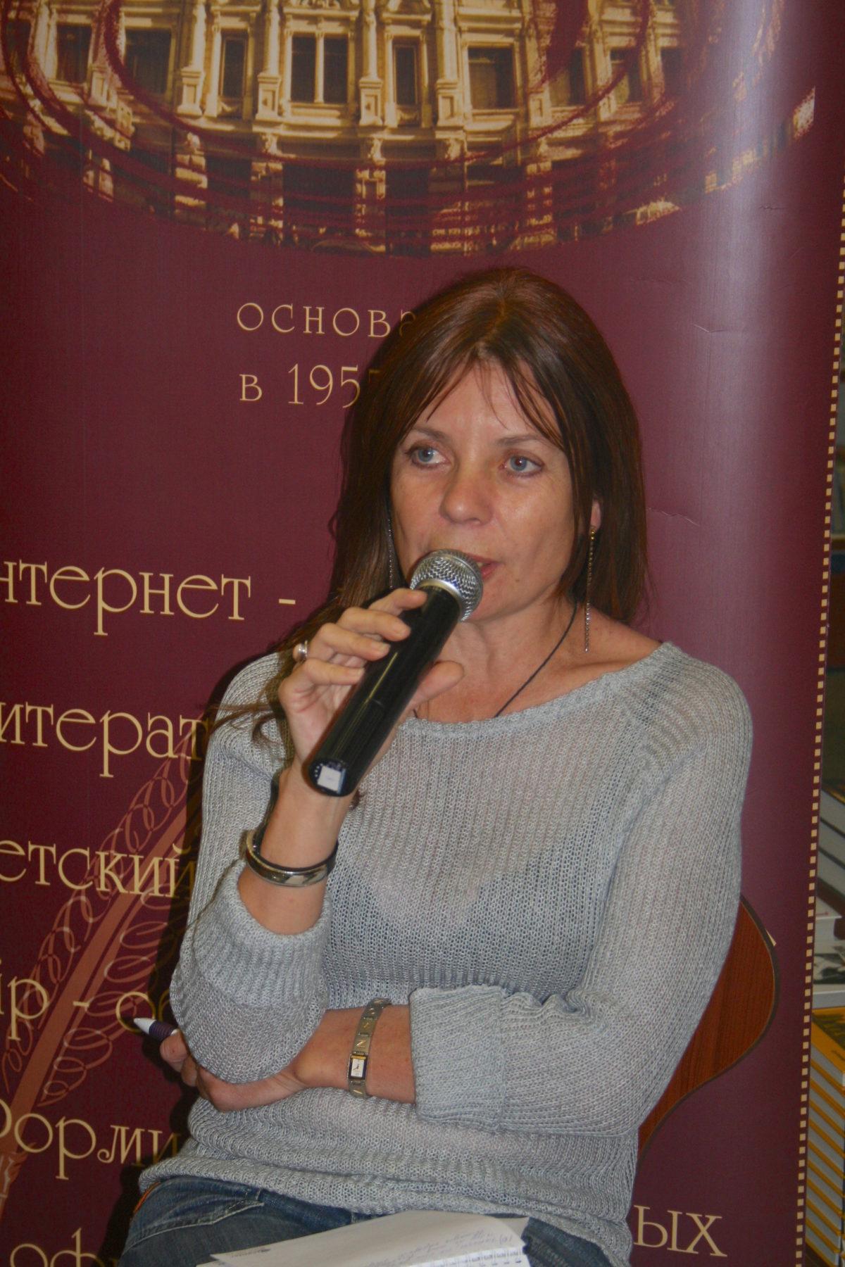 Lena Faber's book-presentation