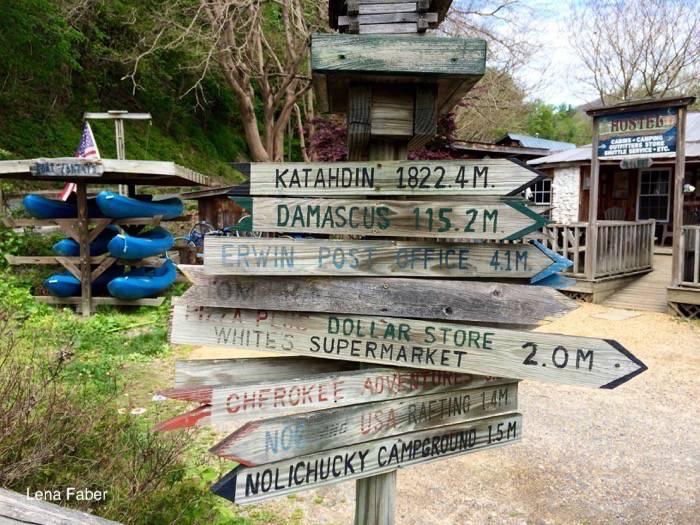 Along the Appalachian Trail