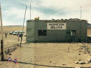 Chile to Bolivia through Atacama Desert